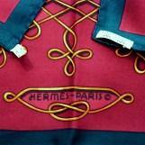 Vinci HERMES Paris care tag
