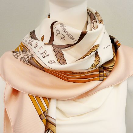 Jumping Special Edition HERMES Silk Scarf