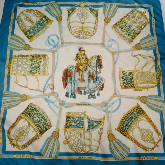Les Muserolles HERMES Scarf 36 inch