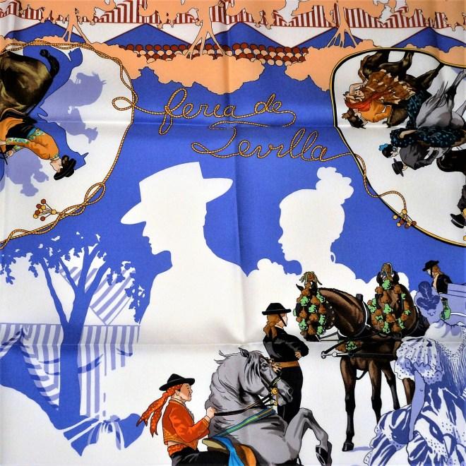 Feria de Sevilla HERMES Silk Carre