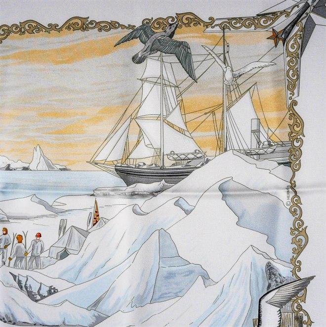 hommage-a-lexplorateur-sir-ernest-shackleton-hermes-silk-scarf-pink-7