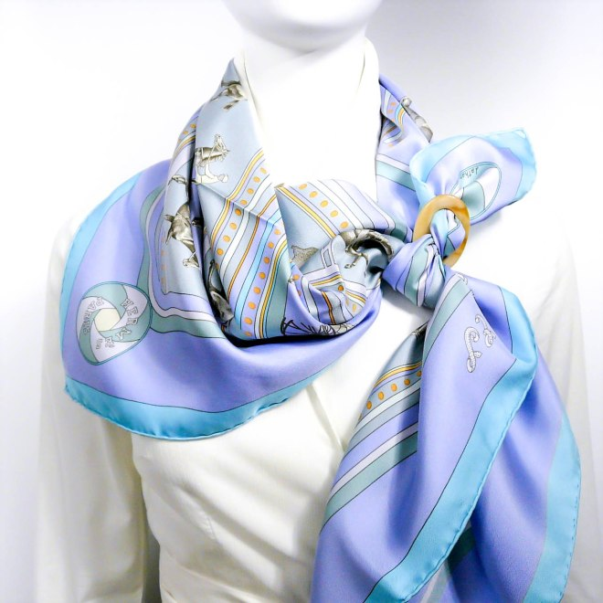 Sequences, HERMES Silk Scarf