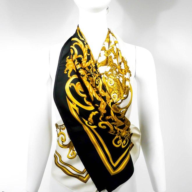 Les Tuileries HERMES Silk Scarves