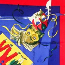 Le Carnaval de Venise HERMES Silk Scarf NIB-2