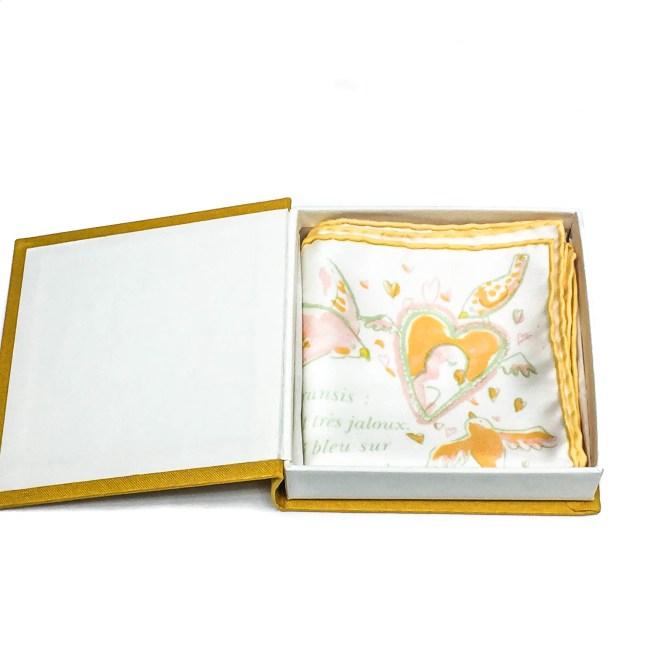 La Perruche HERMES Silk Pocketsquare-6