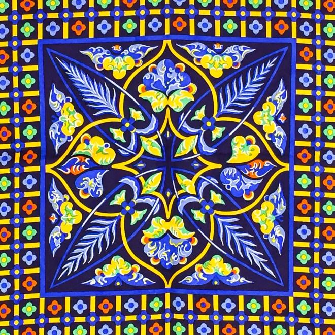 Ciels Byzantins Hermes Silk Jacquard Scarf_-7