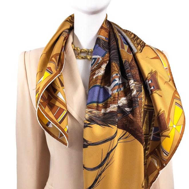Hermes Silk Scarf Apparat des Plaines-2