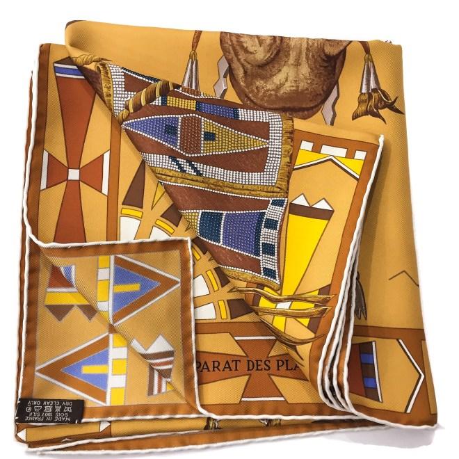 Hermes Silk Scarf Apparat des Plaines-5