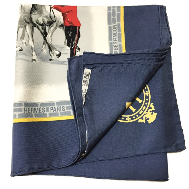 Les Haras Nationaux Hermes Silk Scarf_ (11)