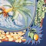 Hermes Silk Scarf Aloha Blue-5