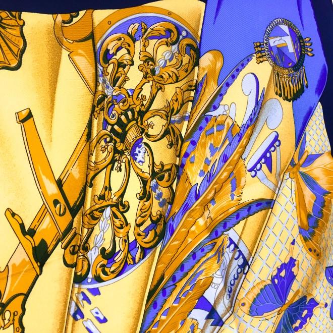 Hermes Silk Scarf Soleil de Soie UNWORN-7