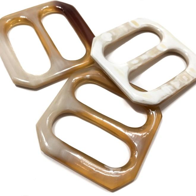 ANNEAU BOUCLE HORN SCARF RING $ 25.50