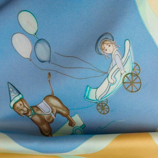 Les Joues Mobile Hermes Silk Scarf Yello Blue-6.jpg