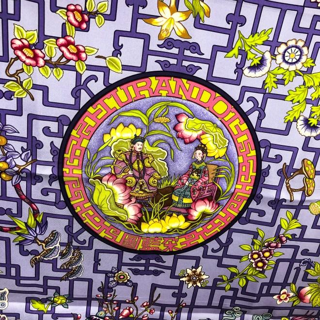 Turandot Hermes Silk Scarf GRAIL Lilac-2.jpg