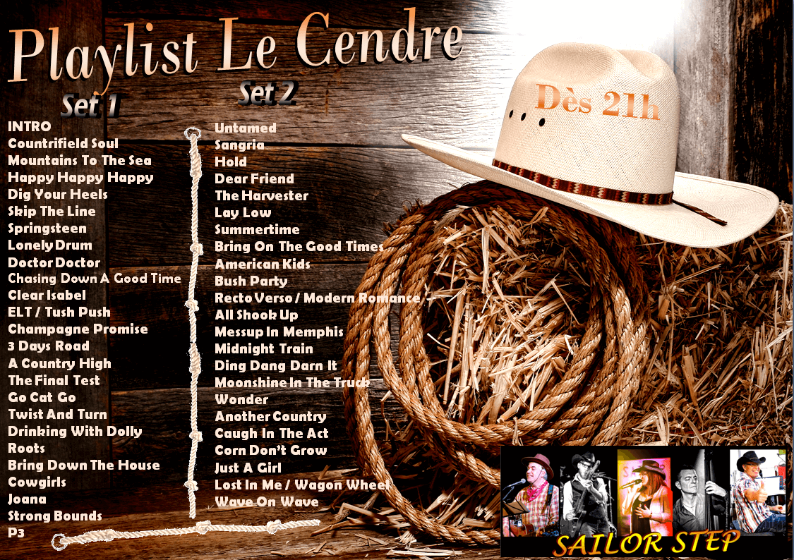 PLAYLIST CONCERT DES SAILOR STEP