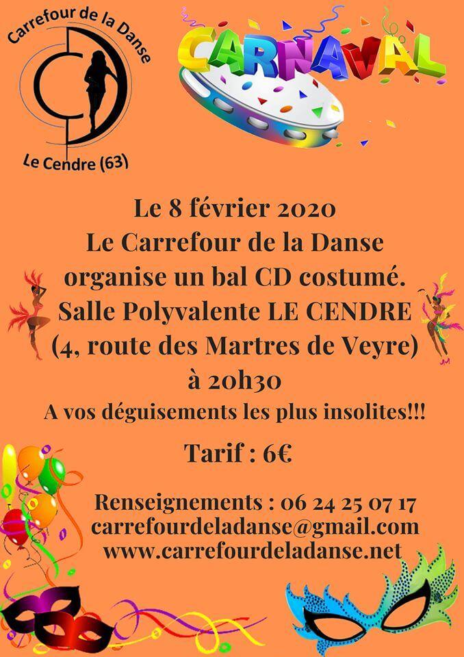 CARNAVAL AU CARREFOUR DE LA DANSE !