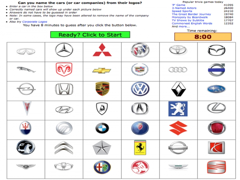 Car Manufacturers Can You Name 42 Auto Manufacturer Logos In 8 Autoconverse