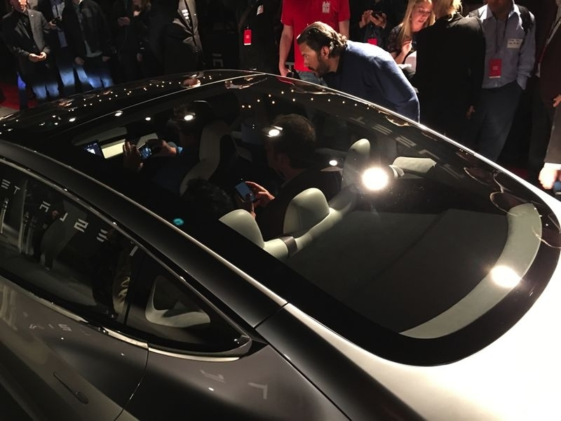 New Tesla Model 3 Tesla Model 3 Announced Release Set For 2017 Price Starts At