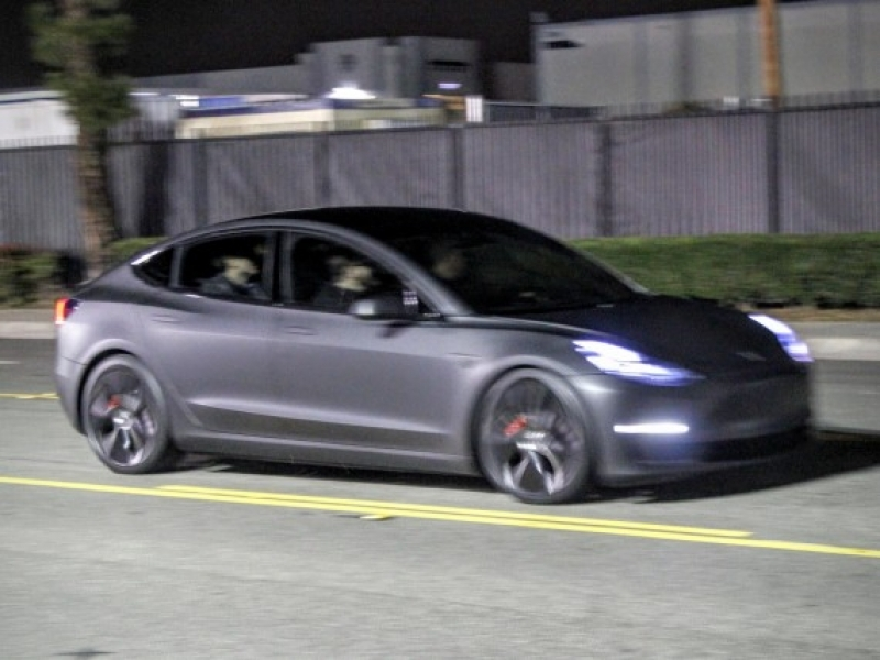 Tesla New Car Model 3 Tesla Model 3 Reveal Event Exclusive Test Track Photos Cleantechnica