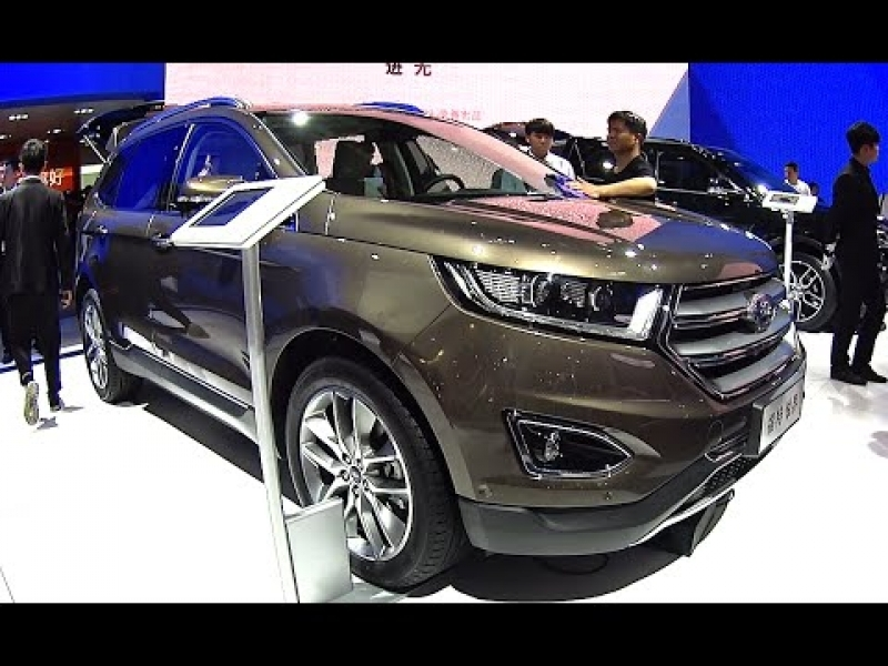 2017 New Car Models Ford	 2016 2017 Ford Edge Launched On The Chinese Car Market Ford Edge