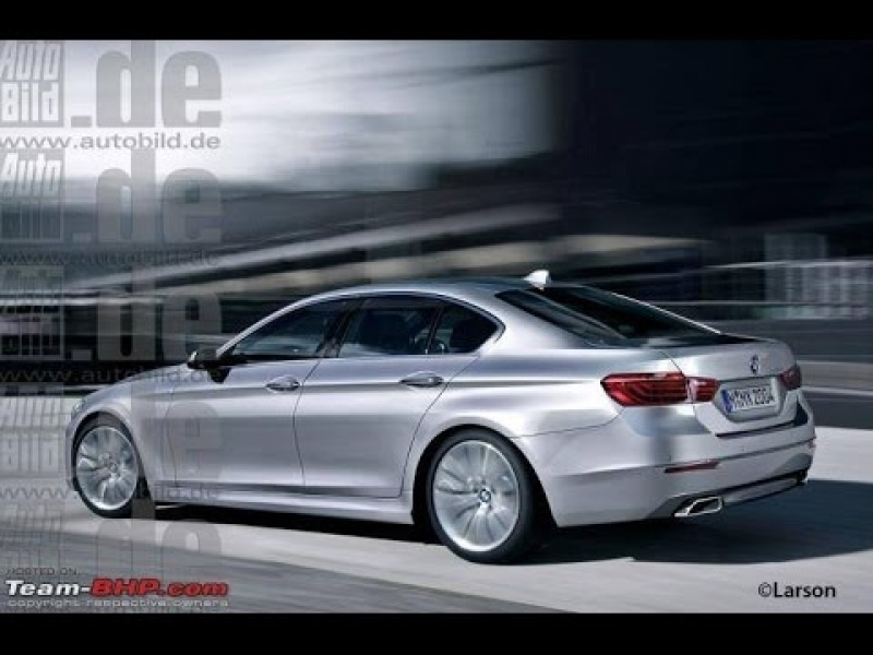 Bmw 2016 5 Series Bmw 5 Series 2016 Unmasked Youtube