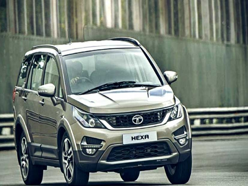 Tata New Car Hexa Tata Hexa Caught Testing Reveals Look Of The Car Ndtv Carandbike