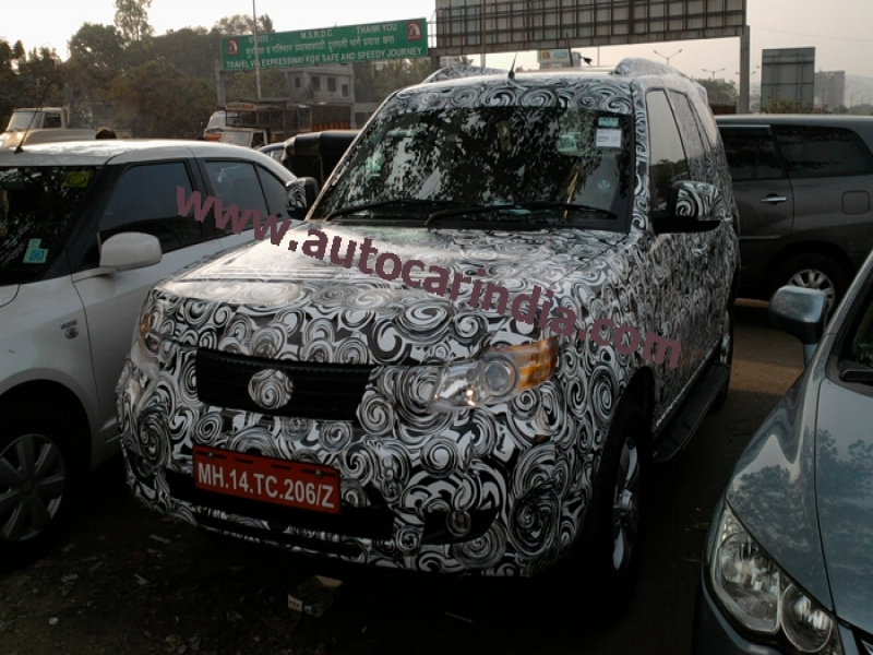 Upcoming Tata Safari Photo	 Tata Safari Storme Autocar India