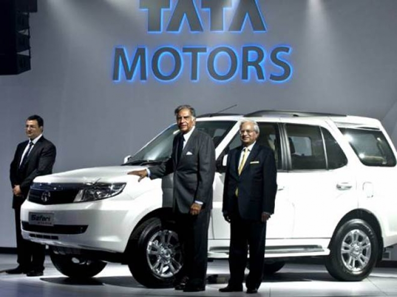 Upcoming Tata Safari Photo	 Tata Safari Storme Gears Up For Launch On Oct 17 India News