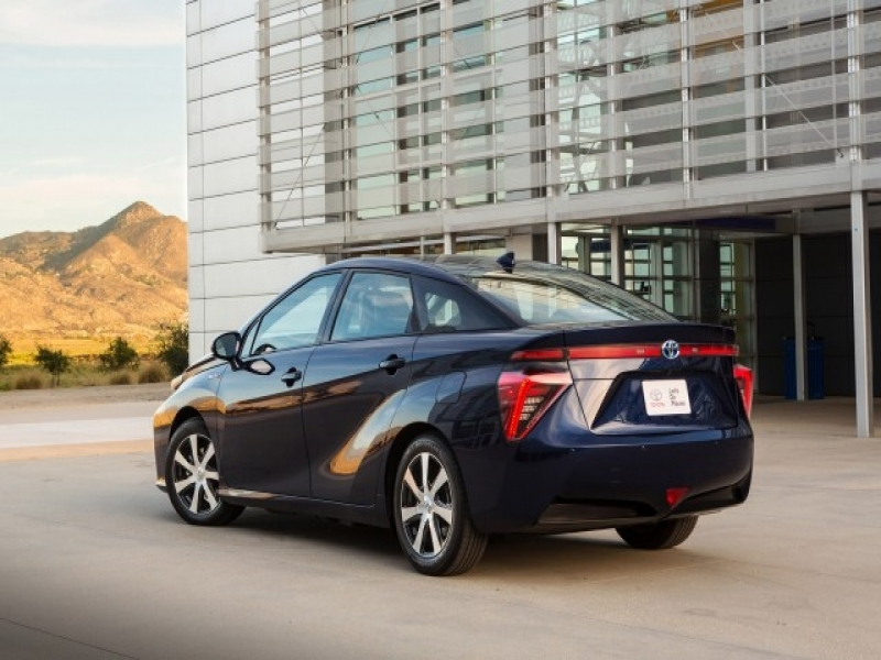 2017 Toyota Mirai Price 2016 Toyota Mirai Priced At 57500 With 499 Monthly Lease