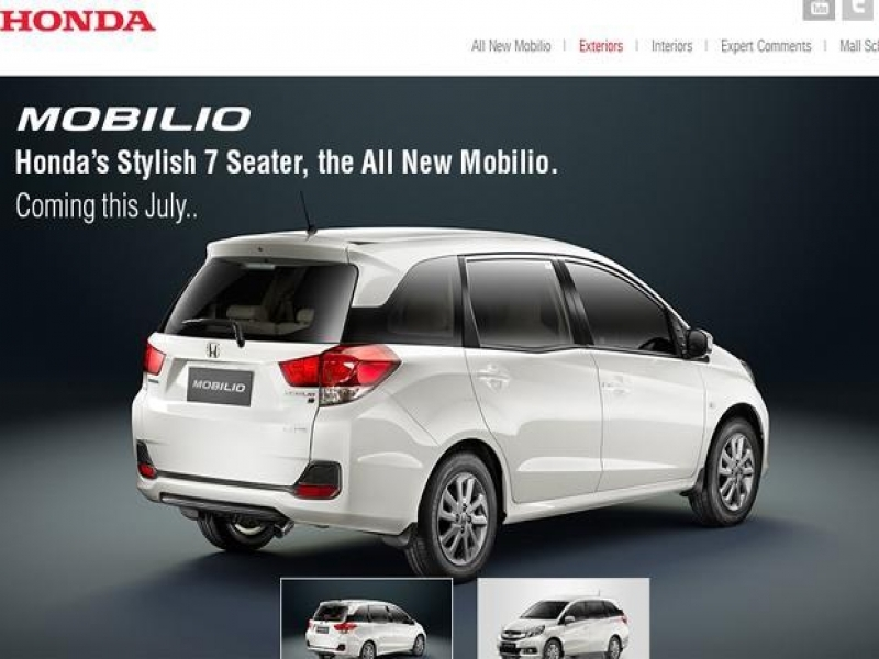 7 Seater Car Price Honda Launches 7 Seater Mobilio At Rs649 Lakh Livemint