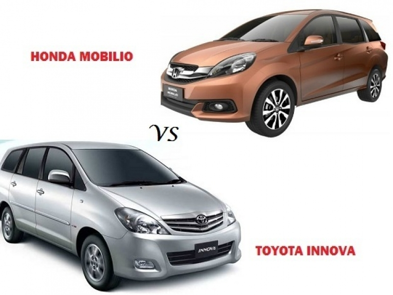Best Honda Mobilio 7 Seater Price Comparison Honda Mobilio Vs Toyota Innova Compare Price