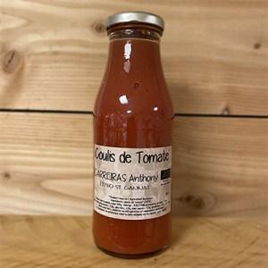 Coulis de tomates anthony