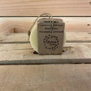 Savon HE lemongrass eucalyptus citronné