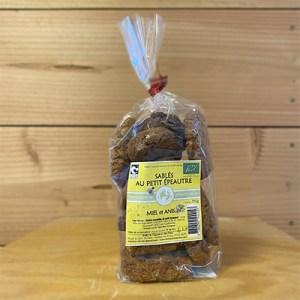 Sablés petit épeautre, fruits secs - 150g