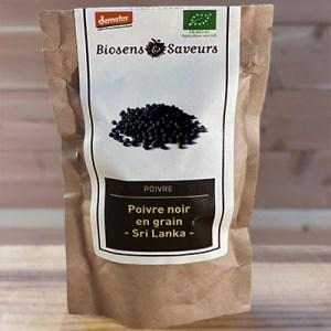 Poivre noir grain Sri Lanka bio