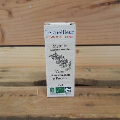 Myrtille bio Le cueilleur gemmotherapie 30 ml