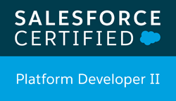 salesforce certified plateform developper 2