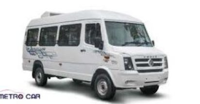 13 Seater Tempo traveller on Rent