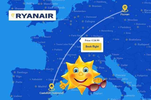 New_Ryanair_route_Poznan_Castellon