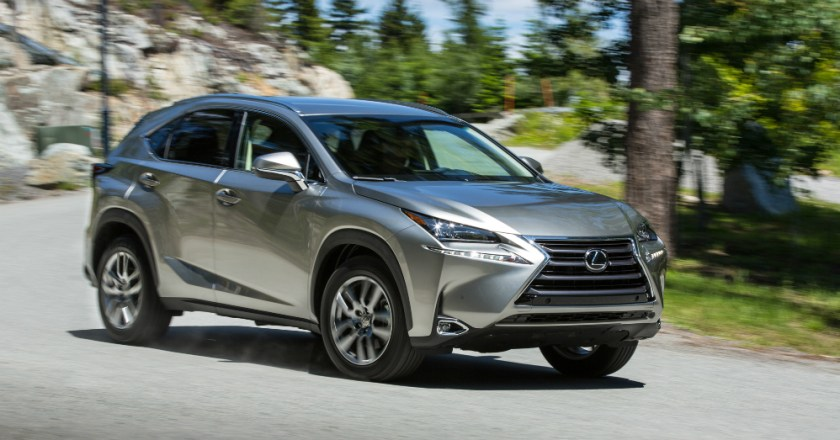 2015 Lexus NX: Dynamic Design and Excellent Ride Quality Meet