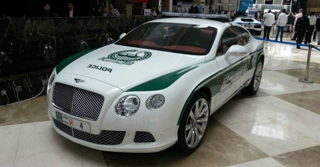Bentley Continental GT Police Car