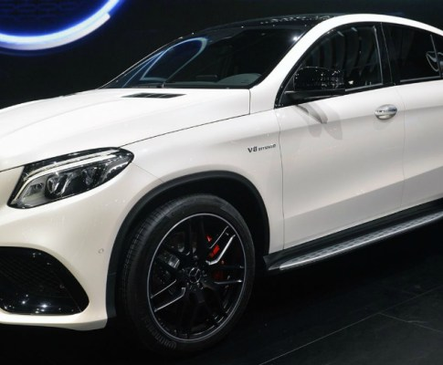 Let's See What the Mercedes-Benz GLE 450 AMG Coupe Offers
