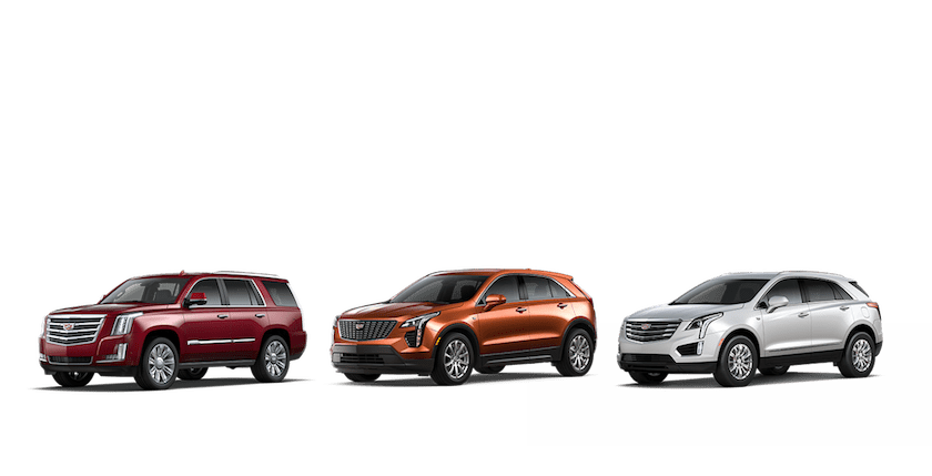 The Cadillac Lineup Evolution