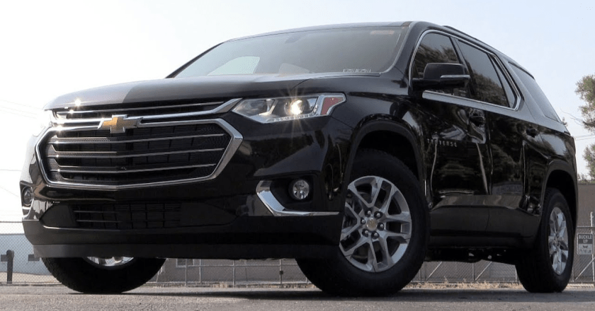 Find Everything in the Chevrolet Traverse