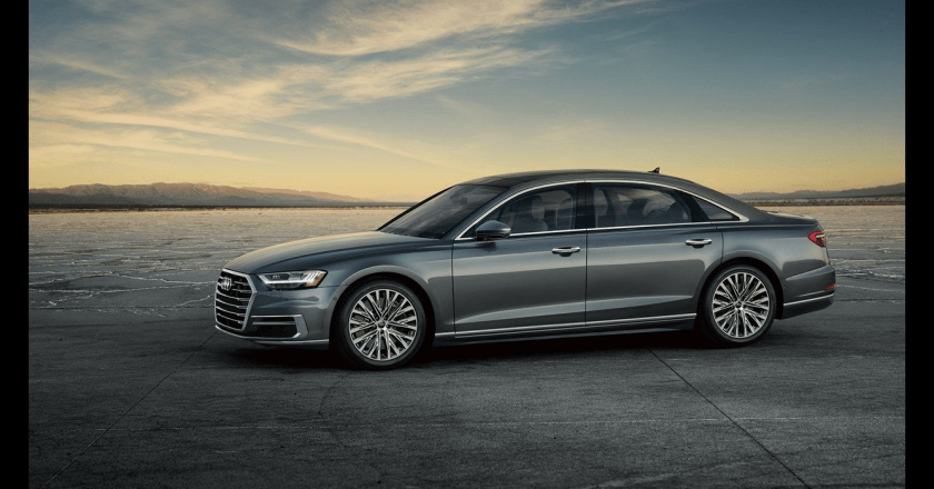 Purity and Luxury in the Massive Audi A8