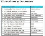 Directivos y Docentes