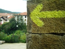 Flecha entrada Zubiri mini