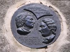 Francia- Homenaje a Pacard-Balmat Oficina Guias Chamonix