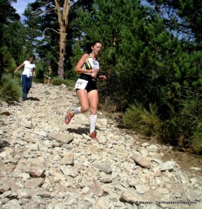 Mujeres que corren: Sonia Elgueta en el Campeonato de Madrid 2012