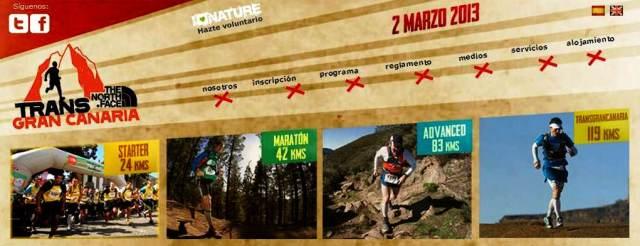 Carreras Transgrancanaria 2013: 24k / 42k / 83k / 119k